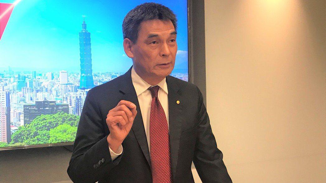 戴德梁行董事總經理顏炳立。   記者游智文/攝影