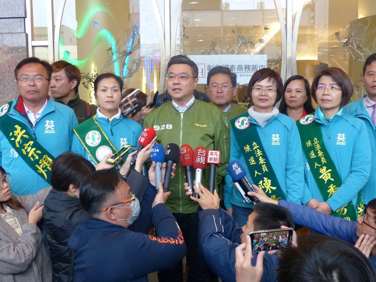 彰化縣立委選舉競爭激烈,民進黨評估是「坐二搶三爭四」。本報資料照片