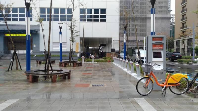 新北市YouBike的新莊區「捷運幸福站」將於明天啟用。圖/新北市交通局提供