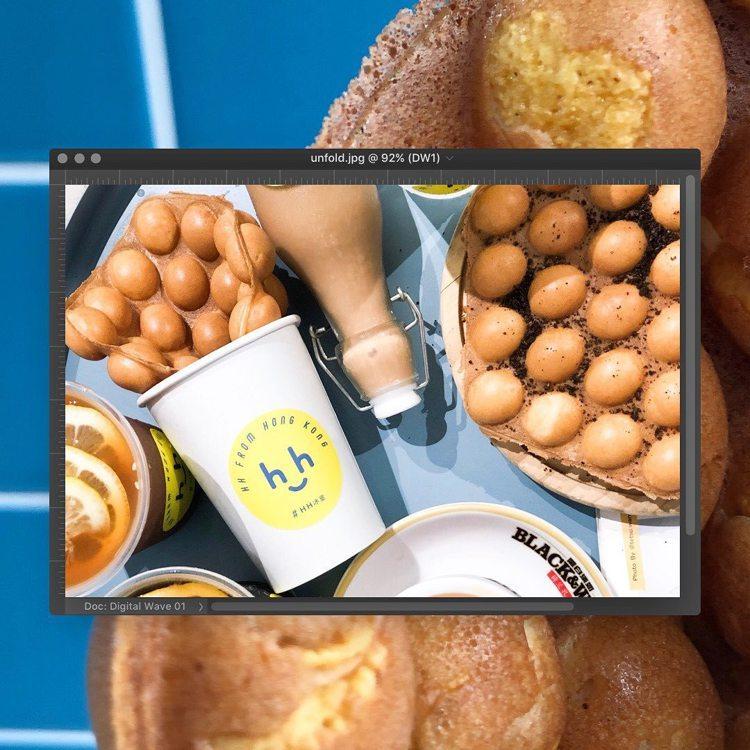 「再見,一卡皮箱」市集,首周品牌「HH冰室」。圖/誠品提供