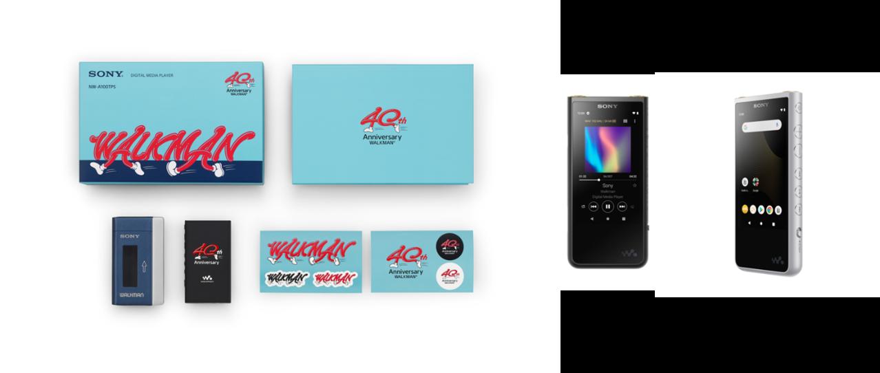 Sony Walkman 數位播放器40周年紀念 NW-A100系列復刻限量發...