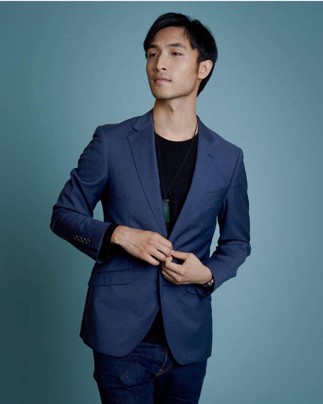 安柚鑫在「花木蘭」將是戲分重要的男主角之一。圖/摘自Instagram