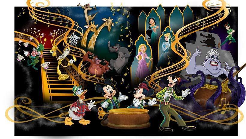 森林劇場將會有約20名的迪士尼明星登場演出。圖/擷取自東京迪士尼度假區官網