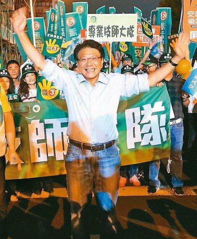 屏東縣長潘孟安(圖)去年付了五十萬元給楊蕙如的易始公司。 圖/聯合報系資料照片