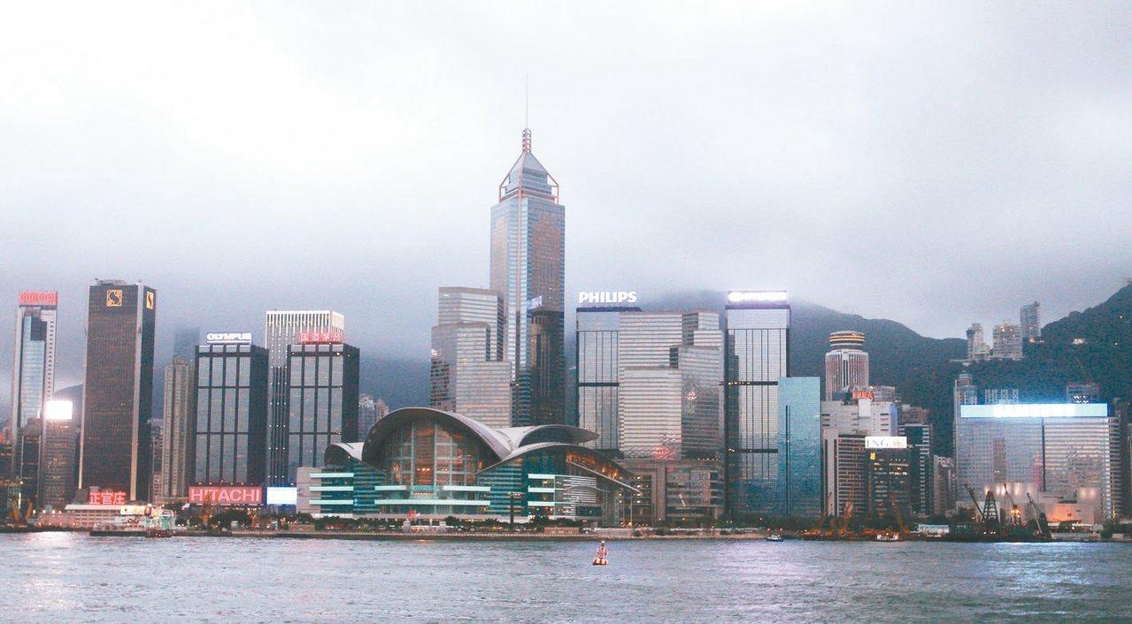 圖為香港金融大樓。 圖/聯合報系資料照片