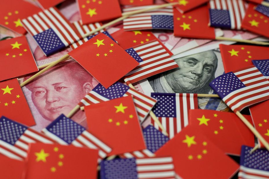 美中貿易戰陰影下,台灣百大集團投資規劃保守。(路透)