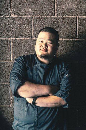 「蘭」的新任主廚Nobu Lee(李信男)。 圖/蘭餐廳提供