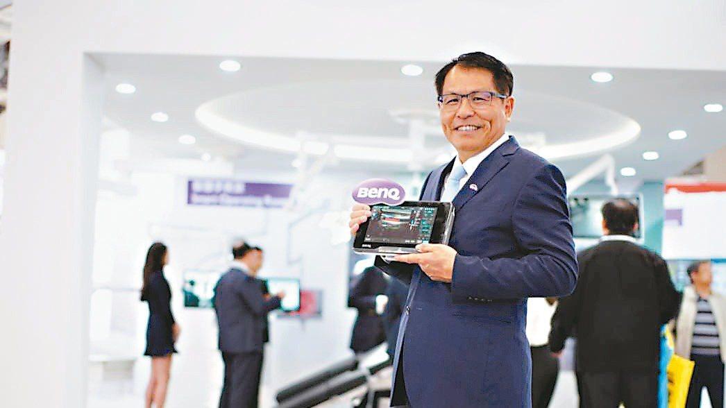 佳世達醫療器材事業群總經理楊宏培 圖/佳世達提供