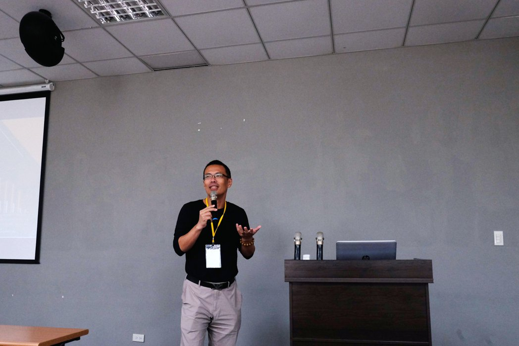 IMPACT計畫協同主持人李達生教授剖析學界智財發展現況。 IMPACT/提供