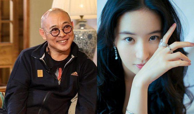 藝人劉亦菲(右)是美國國籍,而紅遍海內外的武打巨星李連杰(左)是新加坡國籍。圖翻...