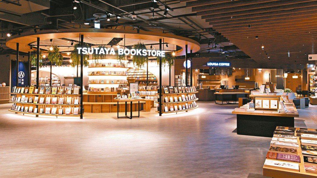 全台第五家蔦屋書店在南港開幕。 圖/CITYLINK提供
