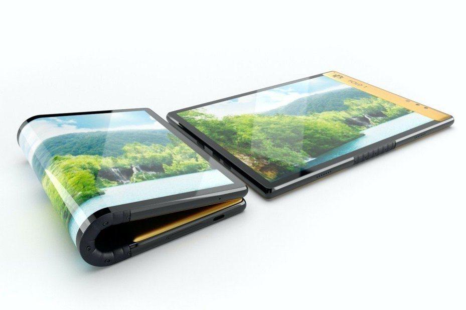 由哥倫比亞大毒梟創辦的Escobar公司,近日推出一款螢幕可凹折的智慧型手機,售價折合台幣僅1萬出頭。圖截自數位趨勢