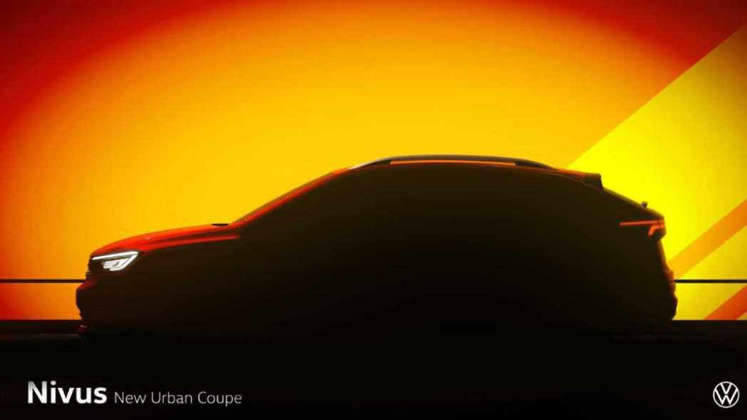Volkswagen全新Coupe SUV定名為Nivus。 截自Volkswa...