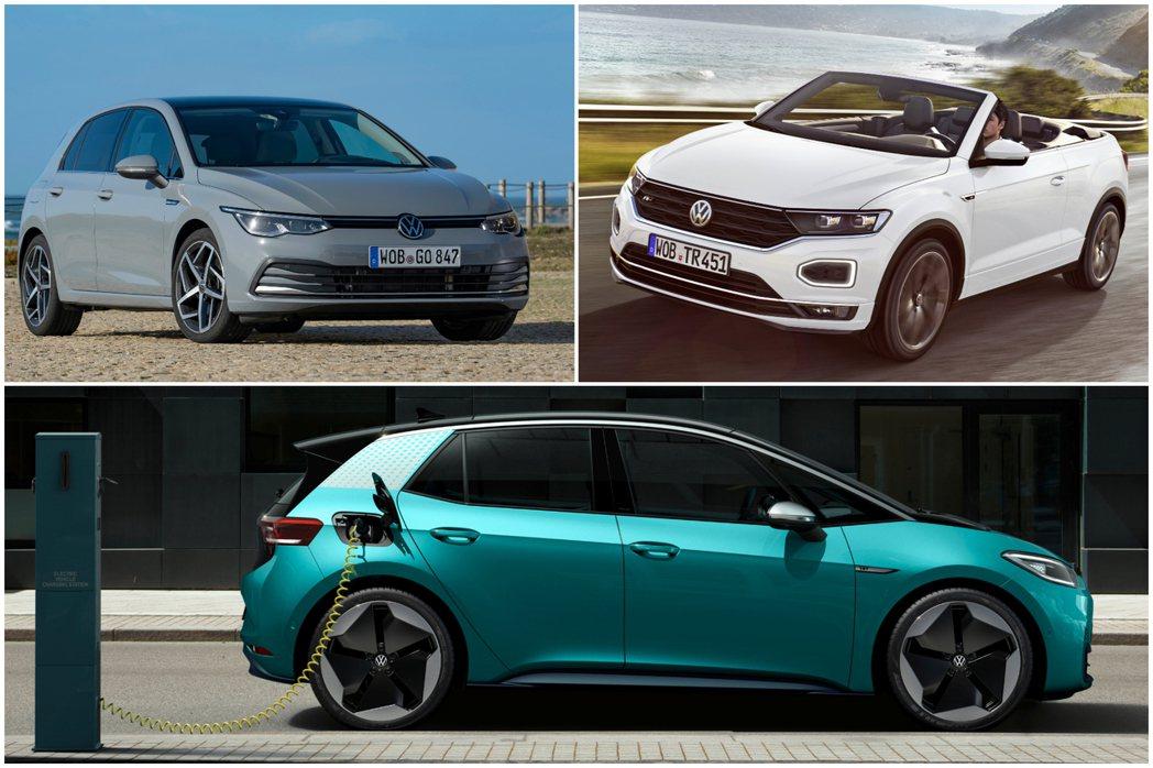 Volkswagen在2019年陸續發表了T-Roc Cabriolet敞篷休旅...