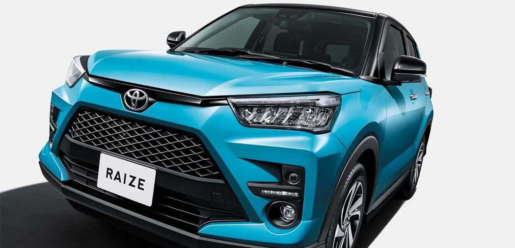 Toyota Raize在日本上市僅一個月就收穫了破三萬張的訂單。 摘自Toyo...