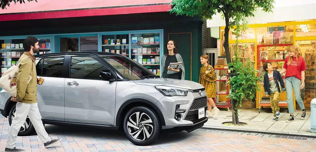 Toyota Raize日本上市首月便傳出捷報。 摘自Toyota