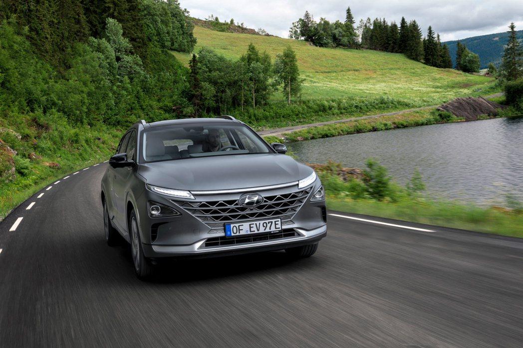 Hyundai Nexo是品牌最新的氫燃料車作品。 摘自Hyundai