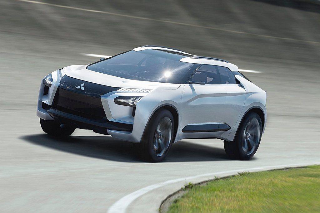 2017年東京車展推出的三菱e-Evolution將來台展示。 圖/Mitsub...