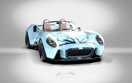與Porsche 911同價位但更熱血的Jannarelly復古小跑車!