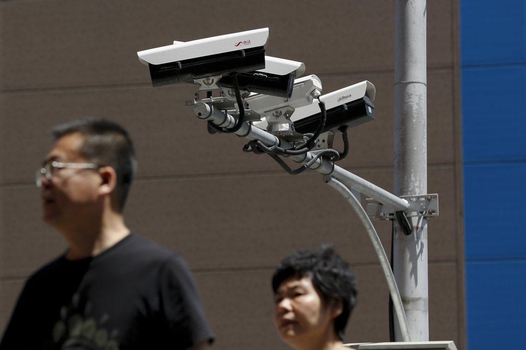 全球的監視鏡頭預估2021年底前將超過10億支。美聯社