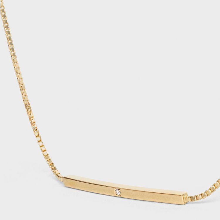 CELINE Sentimental Straight黃金及鑽石手鍊,售價29,...