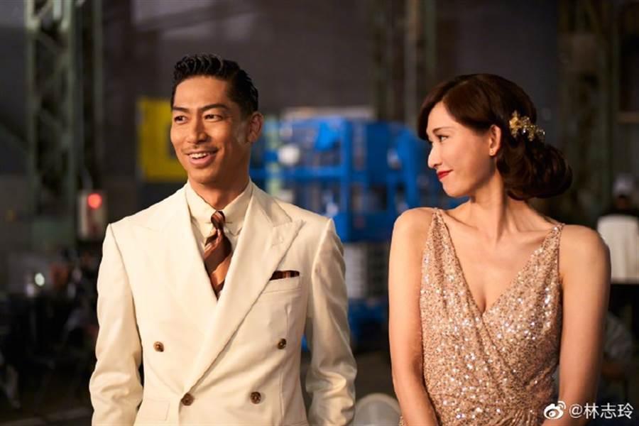 林志玲、Akira結婚後持續放閃。圖/摘自微博