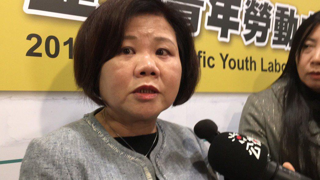 勞動部長許銘春今出席2019亞太青年勞動力趨勢論壇。記者葉冠妤/攝影