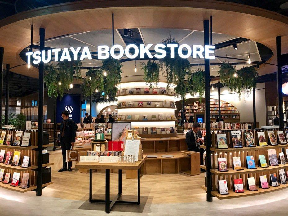 全台最大店、500坪的TSUTAYA BOOKSTORE南港店開幕。記者江佩君/攝影