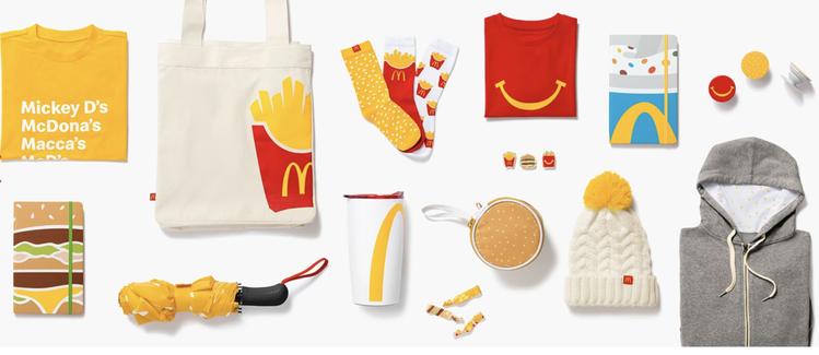 麥當勞線上購物網站「Golden Arches Unlimited」,販售超過2...