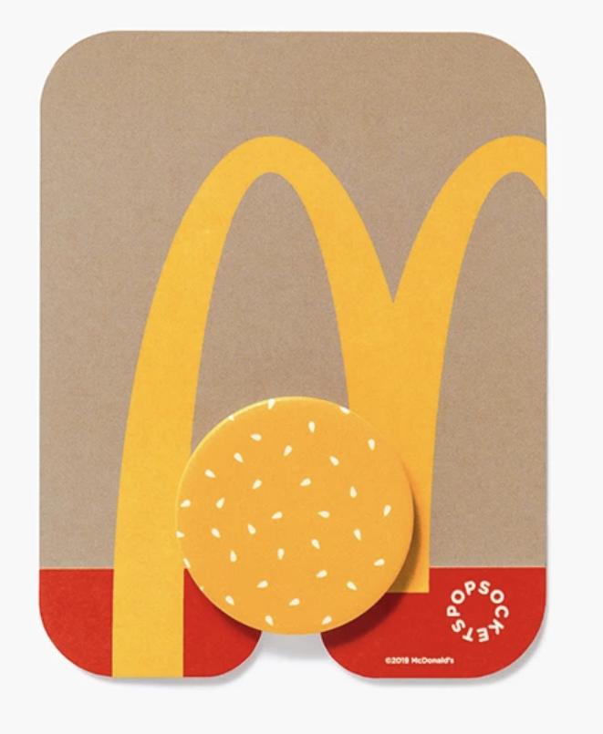 低頭族最愛「麥當勞手機支架」現貨販售中。圖/取自Golden Arches Un...
