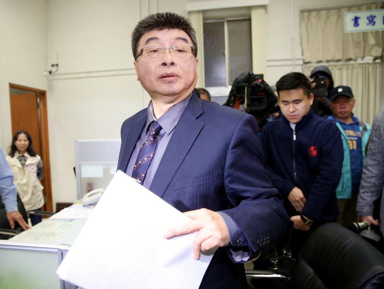 新黨不分區立委候選人邱毅。本報資料照/記者徐兆玄攝影