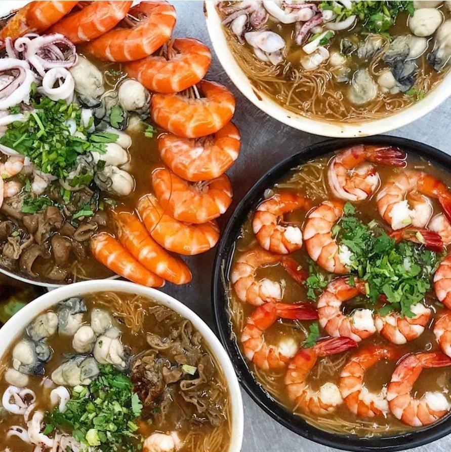 不只是吃麵線,花小錢就能吃海鮮。IG @amos0716 提供 https://...