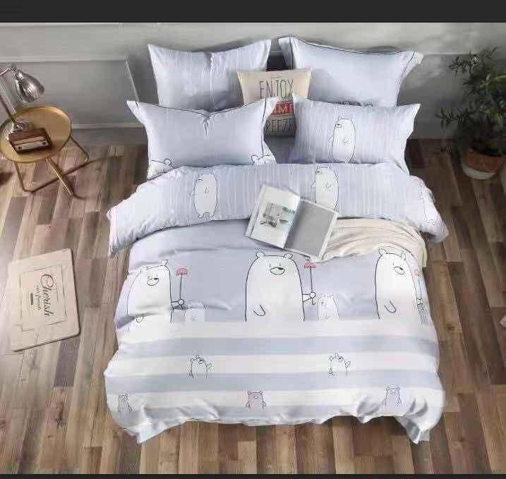 Dora home 3M天絲雙人兩用被床包組原價12,800元,特價3,800元...