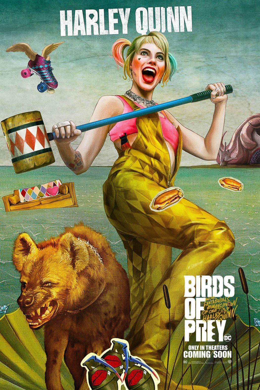 瑪格羅比再度扮演「小丑女」,將於明年2月帶來新片「猛禽小隊:小丑女的解放」。圖/
