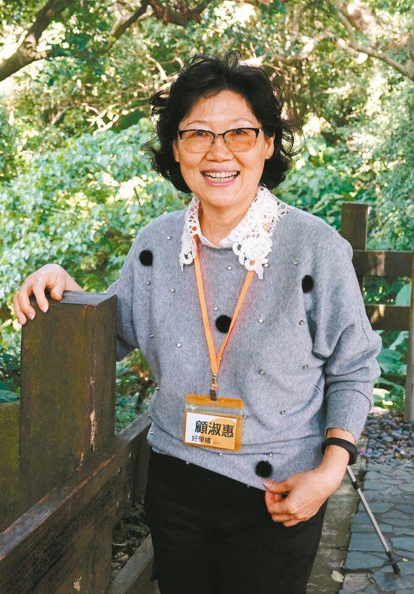 會員顧淑惠。 圖/曾吉松攝影