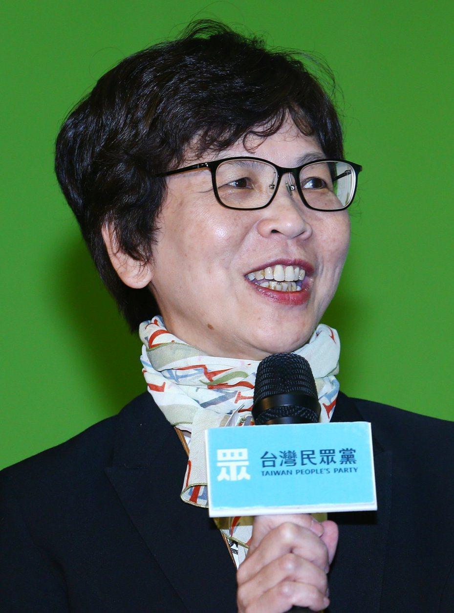 台北市府前顧問蔡壁如。圖/聯合報系資料照片
