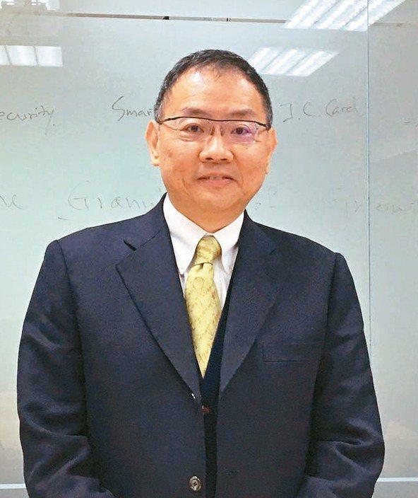 華邦電董事長焦佑鈞 記者李孟珊/攝影