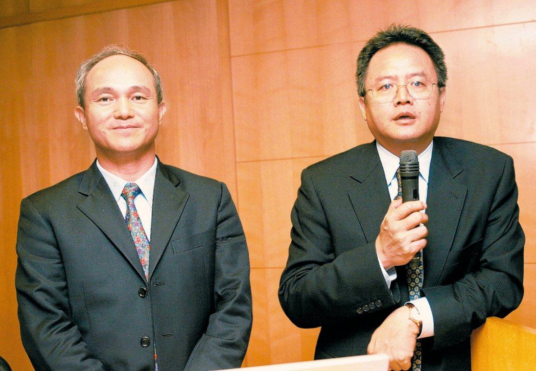 茂達電子董事長陳善南(右)。 (本報系資料庫)