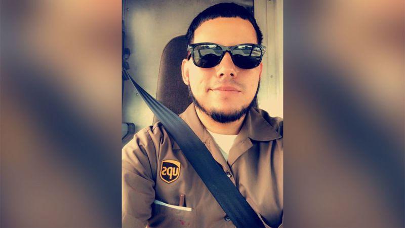 在佛羅里達州珠寶店搶案中遭劫持遇害的UPS司機歐多涅茲。(圖取自臉書)