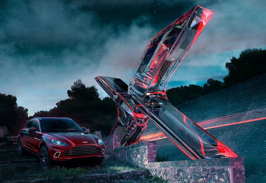 DBX為Aston Martin品牌建廠以來首部休旅車。 圖/Aston Mar...