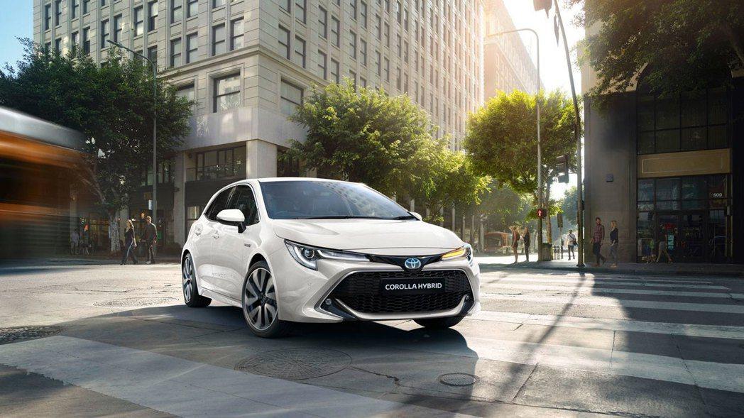 新年式英規Toyota Corolla全車系僅提供1.2升Hybrid與1.8升...