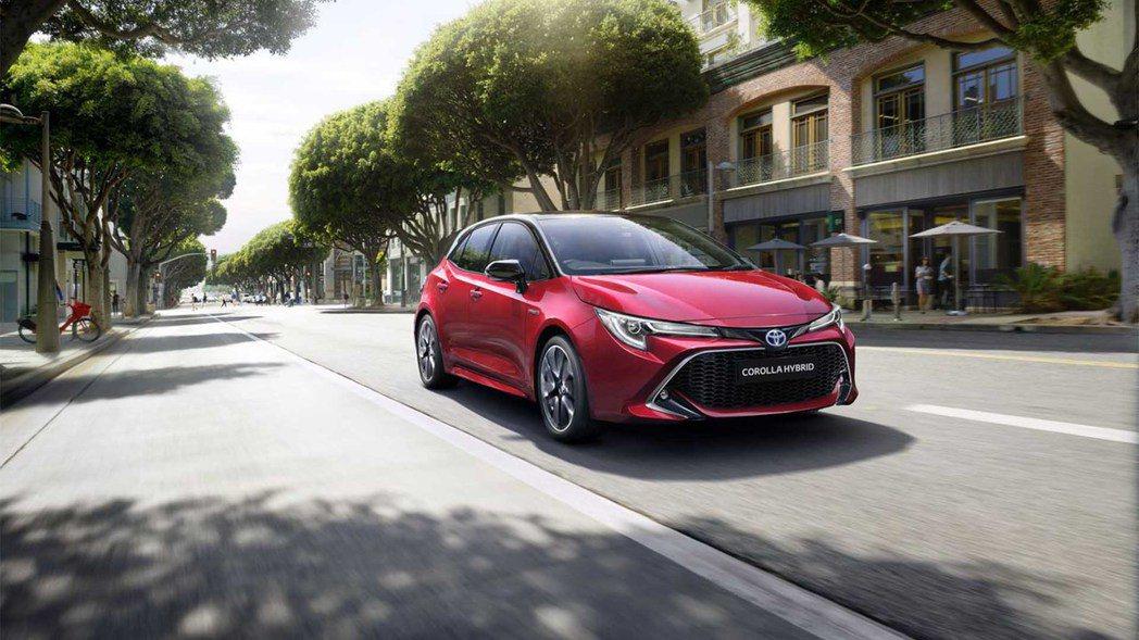 新年式英規Toyota Corolla全車系僅剩Hybrid動力可選擇。 摘自T...