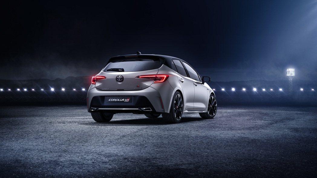Toyota Corolla Hatchback GR Sport。 摘自Toy...
