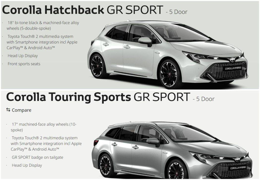 新年式英規Toyota Corolla Hatchback與Corolla To...
