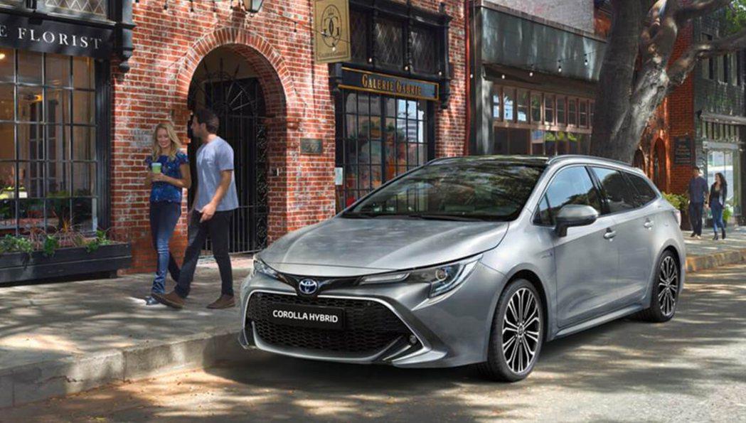 新年式英規Toyota Corolla 1.8升Hybrid車型之最大馬力可輸出...