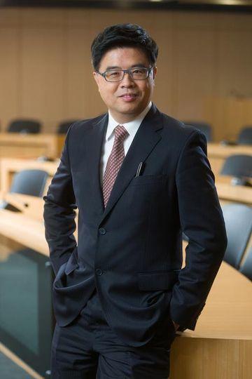 國立臺灣大學EMBA執行長劉啟群。 高雄市產發會/提供
