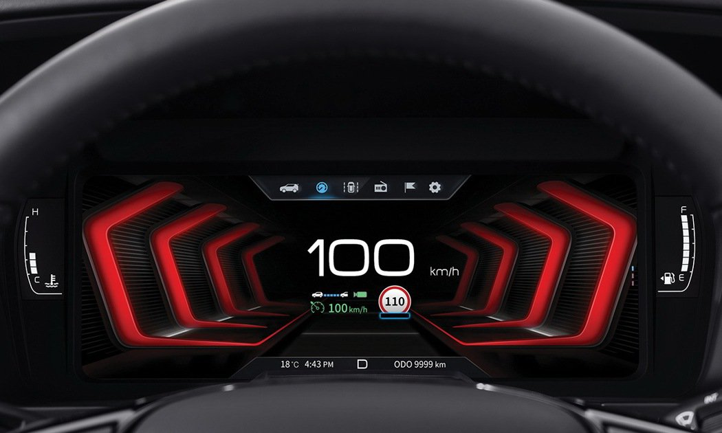 SsangYong TIVOLI小改款將搭載全新10.25吋TFT-LCD數位儀...