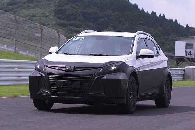 LUXGEN UP5測試車,測試車外型採用現行U6的外觀及內裝架構,但底盤及動力...