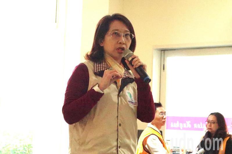 高雄市教師職業工會理事長董書攸表示,教師也不能自外於政治,需主動積極做出選擇。記者徐如宜/攝影