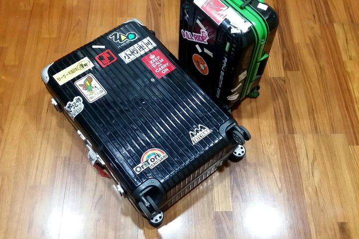 自明年5月起,在日本帶著特大行李登車需預先登記。記者陳睿中/攝影